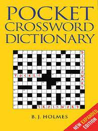 Pocket Crossword Dictionary PDF