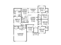 100 2000 Sq Ft Open Floor House Plans Square Foot One  LuxihomeFloor Plans Under 2000 Sq Ft