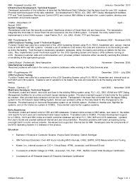 mainframe resume samples exolgbabogadosco - Mainframe Resumes