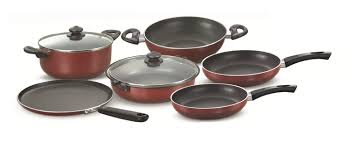 Prestige Kitchen Appliances Prestige Omega Deluxe Induction Base Non Stick Kitchen Set 6