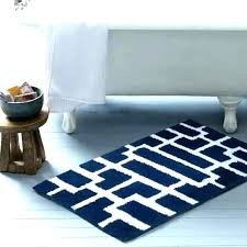 striped bath rug navy and white bath rugs striped bath rugs navy blue lovely rug and
