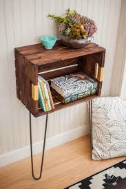 15 ways to diy with wine crates wine crate mini table