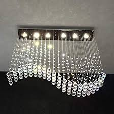 drop lighting fixtures. Moooni Contemporary Chandeliers Wavy Rain Drop Lighting Fixtures Crystal Pendant Ceiling Lights P