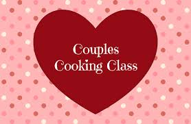 couples cooking cl written in red heart with polka dots around it
