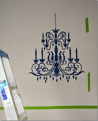 chandelier stencil how to 7 of 18