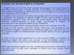 essay importance of english language essays importance of englaumldegsh potcom