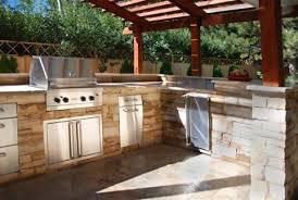 plans building outdoor kitchen