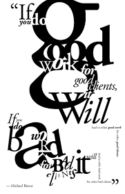 best typography assignments images exercise a typography exercise adobe garamond using quote from michael bierut