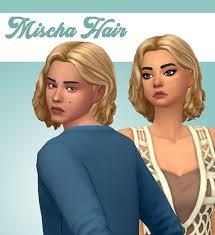 ̗̀ Mischa Hair ̖́- I made the StrangerVille... - Stephanie Plays The Sims  4! | Sims hair, Sims, Sims 4