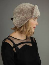Beige <b>Sheepskin</b> Hat With Leather Inserts And <b>Big</b> Fox Fur Pom ...