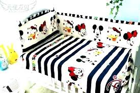 minnie mouse comforter set king size crib bedding bed mickey baby