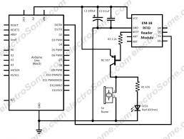 interfacing em 18 rfid reader module arduino uno interfacing em 18 rfid reader module arduino circuit diagram