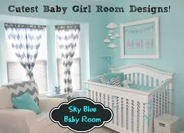 sky blue baby room