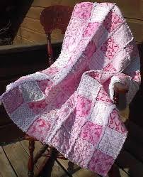 Breast Cancer Awareness rag quilt, I keep saying I am going to do ... & Breast Cancer Awareness rag quilt, I keep saying I am going to do this with Adamdwight.com