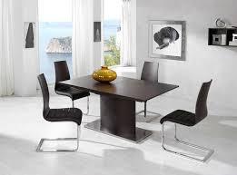 modern black dining room sets. image of: black modern dining room sets