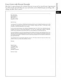 Resume Example Cover Letter For Resume General Best Inspiration