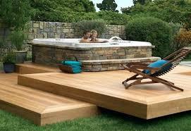hot tub deck. Decks With Hot Tubs Back Yard Tub Deck Ideas Landscaping K