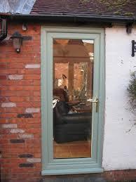 image 58 chartwell green full glass back door