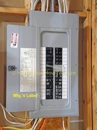 Circuit Breaker Cabinet How To Wire An Electrical Outlet Under The Kitchen Sink Wiring Diagram