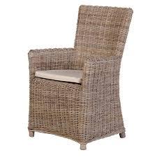 Portou Kuba Rattan Chair With Cushion Rathwood