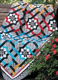 Interlocking Stars: Quilt Pattern Download &  Adamdwight.com