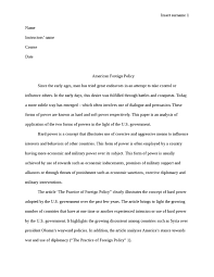 american foreign policy essay american foreign policy essay  american foreign policy history essay studentshareamerican foreign policy essay example