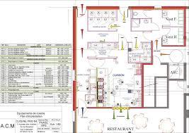 Plan Dune Cuisine De Restaurant Aux Normes Cuisine Idee Deco
