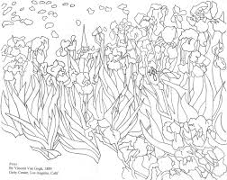 Small Picture Good Van Gogh Coloring Page 67 About Remodel Picture Coloring Page
