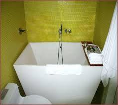deep bathtubs for small spaces soaking tubs bathrooms