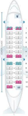 Seat Map Us Airways Bombardier Canadair Jet 200 Seatmaestro