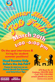 Students Find Your Summer Job Vccs
