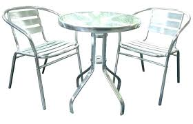 outdoor bistro table set metal image of amazing wicker patio ikea