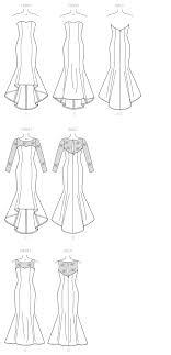 Mermaid Dress Pattern Simple Design Inspiration
