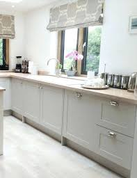 modern off white kitchen. White Kitchen Cabinets With Gray Walls Grey And Stone Modern Country Style Shaker Cabinet Doors From The Door Range Finished In Farrow Off