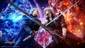 All logos and information has been removed. Dante Vs Vergil Devil May Cry Wallpaper Hd Games 4k Wallpapers Images Photos And Background