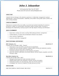 Free Download Resume Templates For Microsoft Word 2003