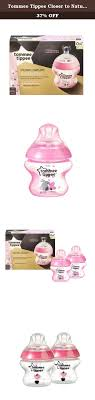 Tommee Tippee Pink Decorated Bottles Tommee Tippee Closer to Nature Decorated Bottle Pink 100 Ounce 47