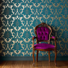 vintage wallpaper. Wonderful Vintage Frenchinspired Room With Vintage Wallpaper Inside Vintage Wallpaper