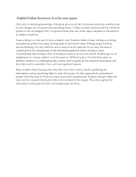 Meet The Goal Of Education From Write My Essay Online Docsity