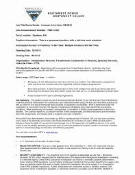Lineman Resume Nardellidesign Com Foreman 13 Apprentice