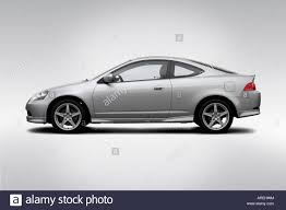 2006 Acura RSX Type-S in Silver - Drivers Side Profile Stock Photo ...