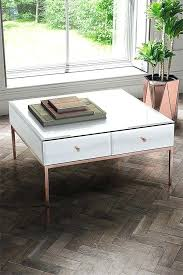rose gold coffee table sti white glass and argos rose gold coffee table