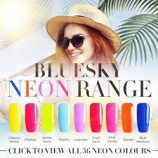 Bluesky Neon Range Uv Led Soak Off Gel Manicure 10ml 36