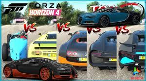 Ds automobiles 2011 ds3 racing (series 4). Bugatti Speed Battle Forza Horizon 4 Top Fastest Bugatti Mph Stock Cmc Distribution English