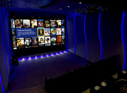 lighting for home theater. Incredible Neon Home Theater Lighting Display For H