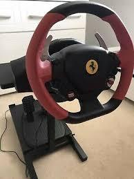 Руль thrustmaster tmx ffb eu version (xbox one/pc). Ferrari 458 Spider Thrustmaster Steering Wheel And Pedals 31 00 Picclick Uk