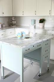 Desk In Kitchen Monday Makeover Diy Kitchen Island