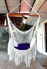 precious macrame hammock chair pattern swing hanging for