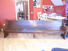 10 ft pine church pew for antiques com classifieds