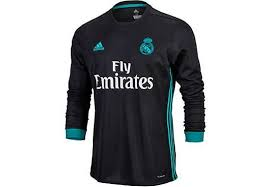 Bulk buy real madrid jerseys online from chinese suppliers on dhgate.com. 2017 18 Adidas Real Madrid L S Away Jersey Real Madrid Real Madrid Real Madrid Soccer Long Sleeve Tshirt Men